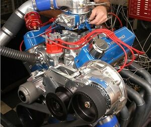 Ford SBF Cog Drive Race Procharger F-1X Supercharger Kit