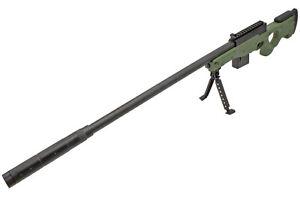 Softair - Sniper - A139 AWP Sniper Rifle Set - mit Zweibein und Munition 92cm
