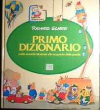 PRIMO DIZIONARIO RICHARD SCARRY LIBRI PER RAGAZZI MONDADORI 1997 OTTIMO AA/1114