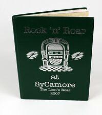 Vintage 2007 Rock N' Roar at SyCamore Elementary School Yearbook