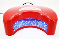 Lampe UV LED 12 Watts Art Nail Séche Ongles Manucure Gel Décoration