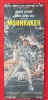 MOONRAKER ORIGINAL 1979 CINEMA DAYBILL MOVIE FILM POSTER Roger Moore BOND 007