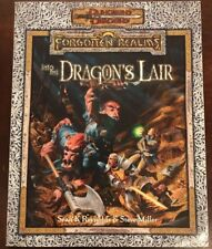 FORGOTTEN REALMS INTO THE DRAGONS LAIR DUNGEONS AND DRAGONS D&D D20 RPG WOTC