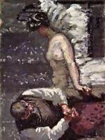 THE CAMDEN TOWN MURDER WALTER SICKERT ART PRINT POSTER PICTURE HP1091