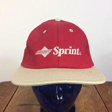 Vintage 80s 90s Sprint Cell Phone Wireless Internet Snapback Hat Cap Grunge