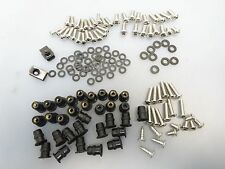 Kawasaki ZX6R ZX600P Verkleidungs Schrauben Schraubensatz screw bolts 07-08 II