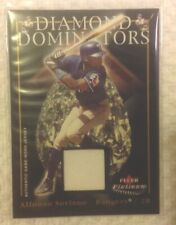 2005 Fleer Diamond Dominator Alfonso Soriano 007/199 Game-worn Jersey Swatch