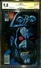 LOBO 1 NEWSSTAND CGC 9.8 SS AUTO/ BISLEY & GIFFEN 1ST LOBO IN OWN TITLE RARE