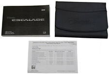 2015 Cadillac Escalade/ESV US Owners Manual Book W/Leather Case New 22953737