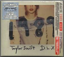 Taylor Swift: 1989 - Deluxe Edition (2014) TAIWAN OBI CD w/ 13 PHOTO CARDS