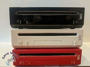 Modded Nintendo Wii Console with Homebrew 32GB SD card **OZ SELLER**