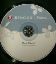 Singer Futura Xl 400,420,500,550,580 & Sesq PhotoStitch Software & Bonus