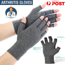 Anti Arthritis Compression Gloves Therapeutic Pain Relief Pair Therapy Hands ZX