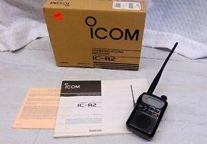 Icom IC-R2 495kHz-1300MHz Handheld Scanning Receiver