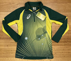 Cricket Australia Womens Player Issue ODI Home Shirt L/S MCLAUGHLIN Size 8 BNWT