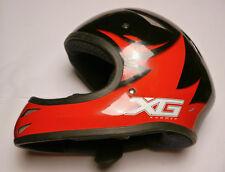 ESPN X Games BELL Helmet Small Red & Black Full Face BMX ski skiing