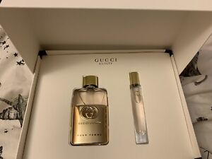 New Gucci Beauty Guilty Perfume 50ml & 7.4ml EDP Gift Set - Genuine