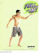PUBLICITE ADVERTISING 116  2011  Pull-Inn   bermuda short bain homme