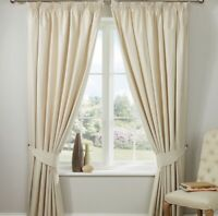 "Christy Classic Twill Curtain Pair 66""x72"""
