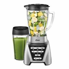 Oster Pro1200 Watt 7 Spd Kitchen Plus Countertop Blender with 24 oz Smoothie Cup