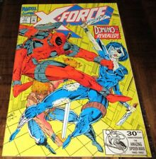X-Force #11 VF- Liefeld Pacella 3rd Deadpool Copycat (Domino) 1st Weapon Prime