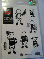 New York Jets Small Family Car Decals