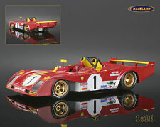 Ferrari 312pb Vainqueur/Winner 1000 HM Monza 1973 Ickx/Redman, Tecnomodel 1:18%