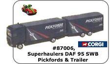 Corgi 87006 1:64,Superhaulers DAF 95 SWB Pickfords & Trailer
