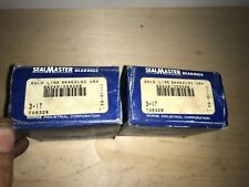 Lot of 2- SealMaster, Bearing ,#3-1T,  FREE SHPPING to lower 48, NEW OTHER!