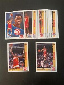 1991/92 Upper Deck Atlanta Hawks Team Set 23 Cards