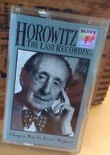 """RARE Horowitz """"The Last Recording"""" - 1990 - Cassette"""