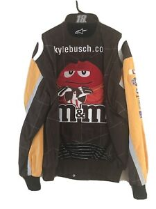 kyle Busch 2010 rookie firesuit jacket. mens medium. fits large  New never worn