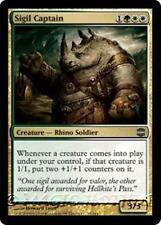 SIGIL CAPTAIN Alara Reborn MTG Gold Creature — Rhino Soldier Unc