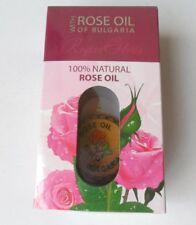 100% Pure Natura Bulgarian Rose OIL Wooden Muskal Gift Otto Rosa Damascena 1.2ml