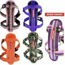 EZYDOG CHEST PLATE DOG HARNESS - Strong and Comfortable ALL UNIQUE COLOURS