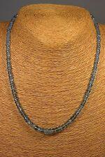 Aquamarin Kette Collier 68,2ct Classic Edelstein Schmuck Heilstein Halskette NEU