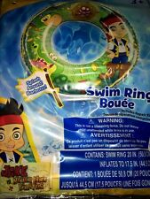 Jake And The Neverland Pirates SWIM RING POOL BEACH NIP KIDS FUN GIFT INFLATES