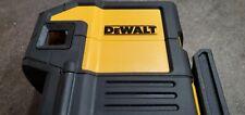 New Open Box Dewalt Dw0851 Self Leveling Spot Amp Horizontal Line 5 Dot Red Laser