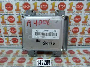 2007 GMC SIERRA 1500 2500 3500 ENGINE COMPUTER MODULE ECU ECM 12597121 YPLA OEM