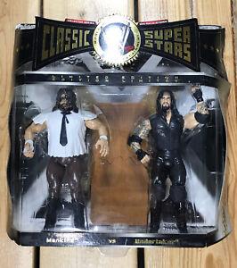 WWE Classic Superstars 2 Pack Mankind Vs Undertaker Wrestling Action Figures WWF