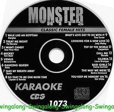 Monster Hits Karaoke CD+G vol-1073/ Barbra Staisand,Bangles,Carpenters,Abba+more
