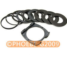 9 Ring Adapter Wide Angle Holder set for Cokin P series