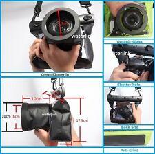 66 ft (20m) Universal underwater Case for DSLR SLR Camera Canon & Nikon