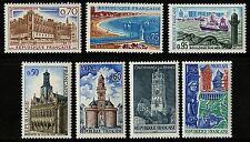 France   1967   Scott # 1185-1191   Mint Never Hinged  Set