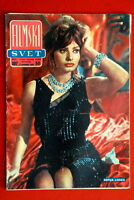 SOPHIA LOREN ON SEXY COVER 1958 RARE VINTAGE EXYUGO MAGAZINE