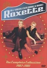 "ROXETTE ""ALL VIDEOS EVER MADE & MORE"" DVD 1987-2001 AUS SELLER, Free Post"