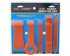 5 PC Nylon Auto Molding Remover Set - Door Panel, Upholstery Clips & Trim Puller