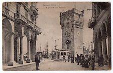 CARTOLINA 1917 SAVONA PORTICI E TORRETTA LEON PANCALDO RIF. 10504