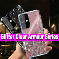 GLITTER STARS CASE For Samsung S20 FE 4G/5G BLING Shockproof Silicone Soft Cover