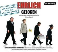 Ehrlich gelogen: Die Lüge: Eine evolutionsbiologische Notwendigkeit - CD NEU //0